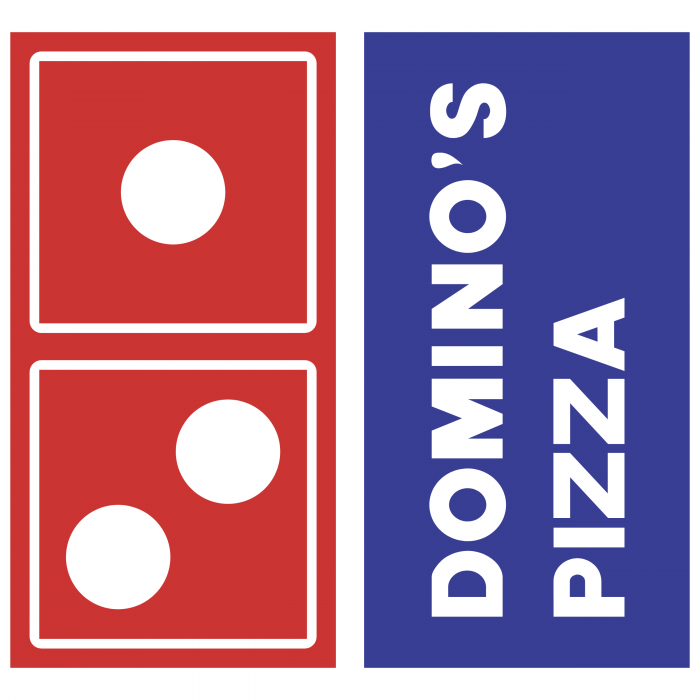 Domino's Pizza logo vertical
