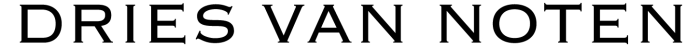 Dries Van Noten logo, logotype, wordmark