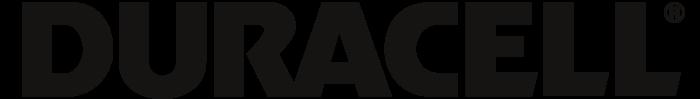 Duracell logo, logotype, black