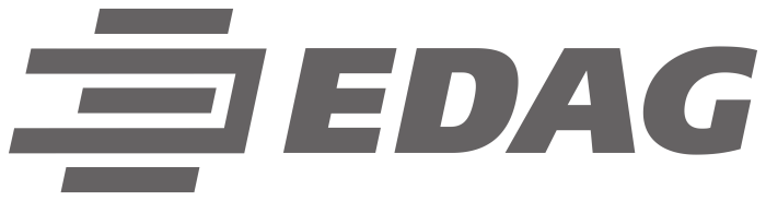 EDAG logo, logotype, emblem