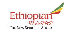 Ethiopian Airlines logo and slogan