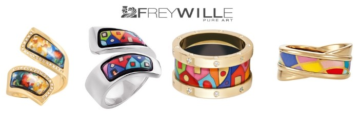 FREYWILLE rings