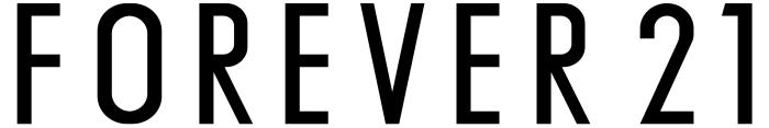 Forever 21 logo, wordmark
