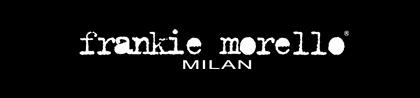 Frankie Morello logotype, logo, black
