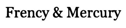 Frency & Mercury logo, logotype