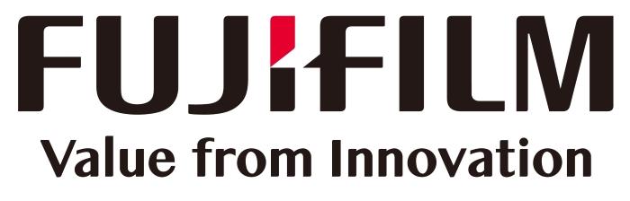 Fujifilm logo and slogan - value from innovation