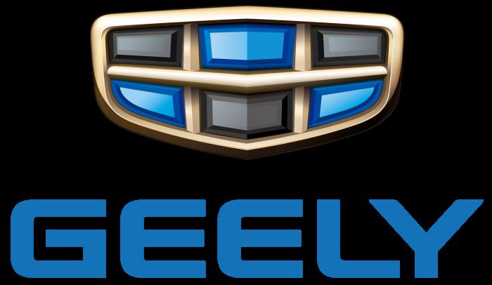Geely logo, logotype, emblem, symbol
