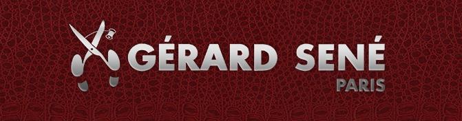 Gerard Sene logo, logotype