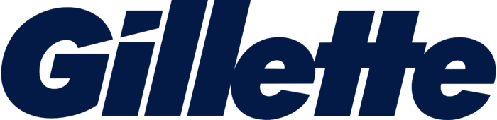 Gillette logo, logotype, wordmark