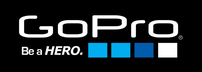 GoPro logo, logotype