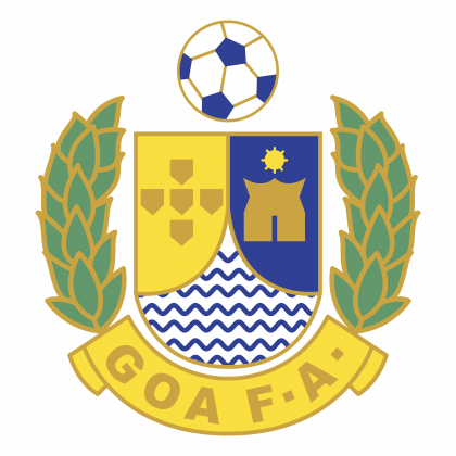 Goa Football Association logo colored