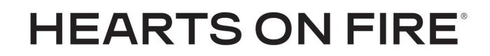 Hearts On Fire logo, logotype, wordmark