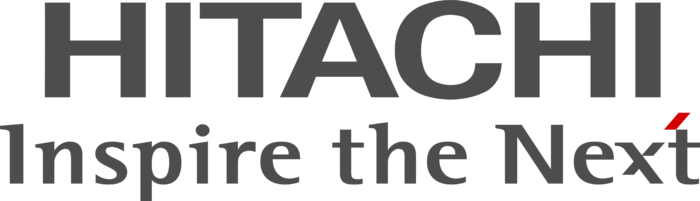 Hitachi logo, slogan