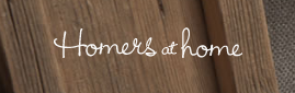 Homers At Home website logo