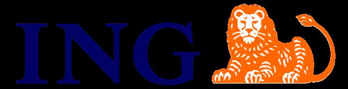ING logo, logotype, lion