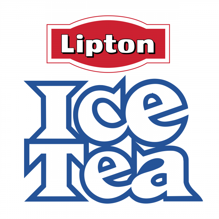 Ice Tea logo blue