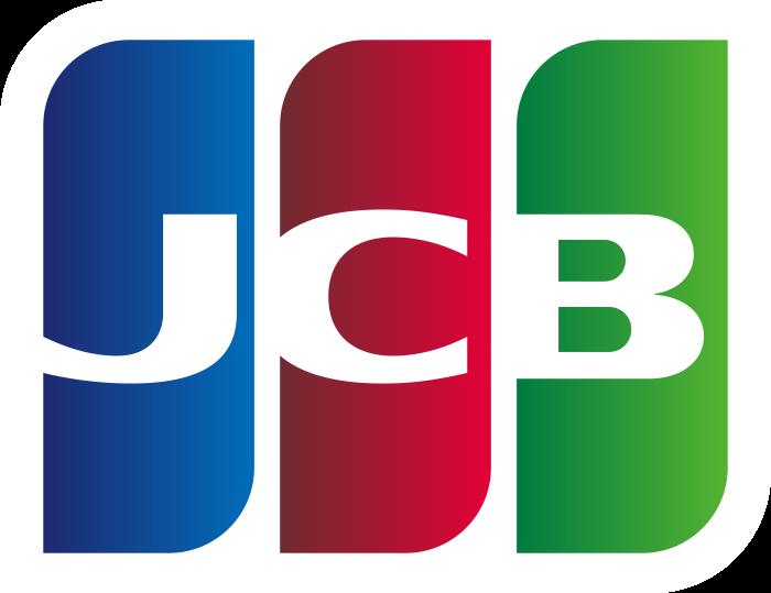 JCB logo, logotype, emblem (Japan Credit Bureau)