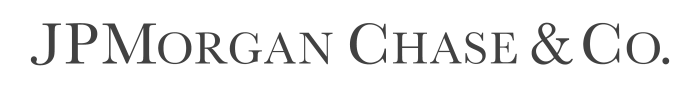 JPMorgan Chase & Co logo, gray