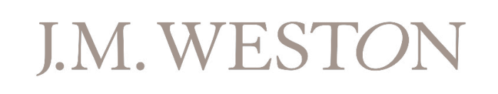 J. M. Weston logo, gray