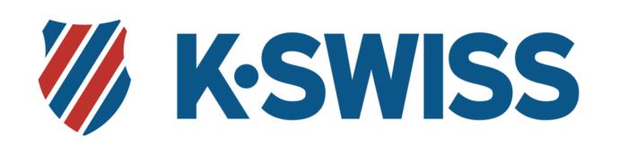 K-Swiss logo, logotype, emblem, horizontal