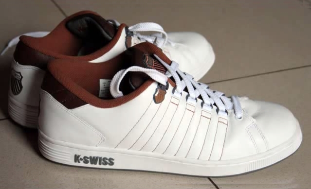 K-Swiss sneakers, white