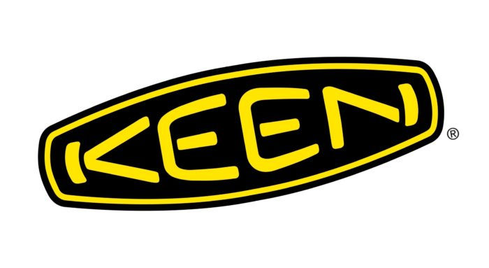 Keen logo, emblem, rotated