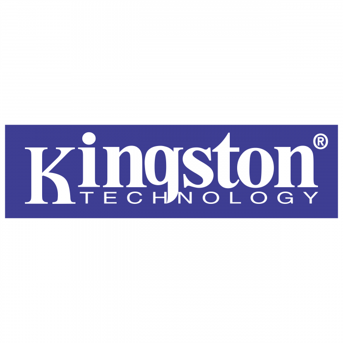 Kingston logo violet