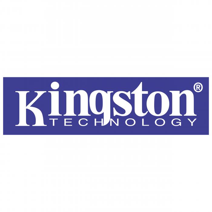 Kingston logo violet