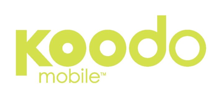 Koodo logotype, green