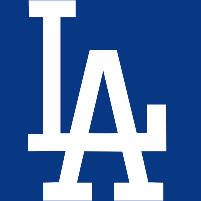 LA Dodgers logo, logotype, emblem, symbol