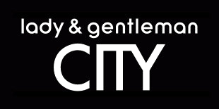 Lady & Gentleman City logo, logotype, black