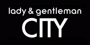 Lady & Gentleman City logo, logotype, black