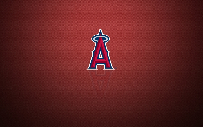 Los Angeles Angels wallpaper with logo