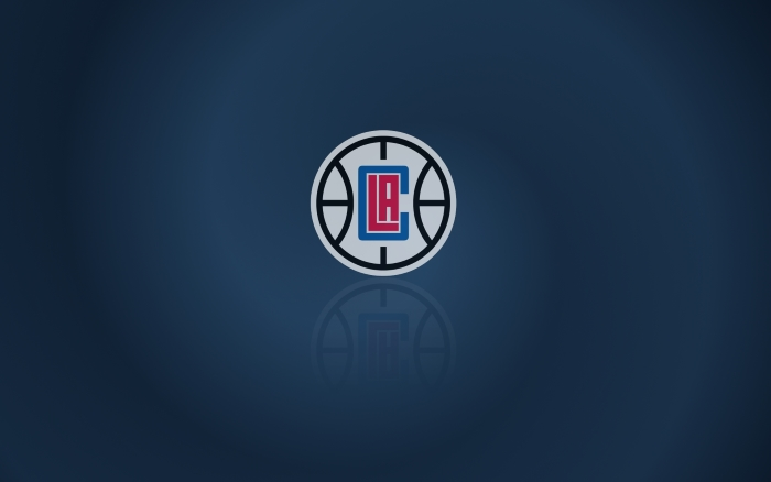 Los Angeles Clippers wallpaper with logo  on it, wide, 1920x1200px