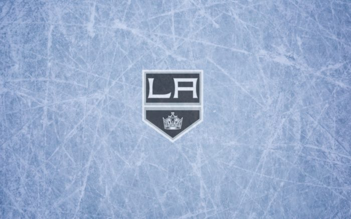 Los Angeles Kings wallpaper, ice and logo, widescreen 1920x1200, 16x10