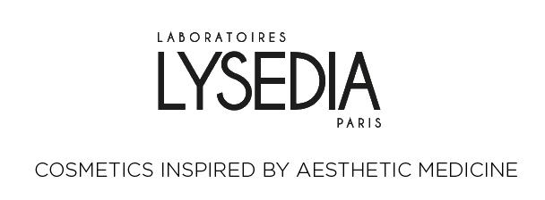 Lysedia logo, white