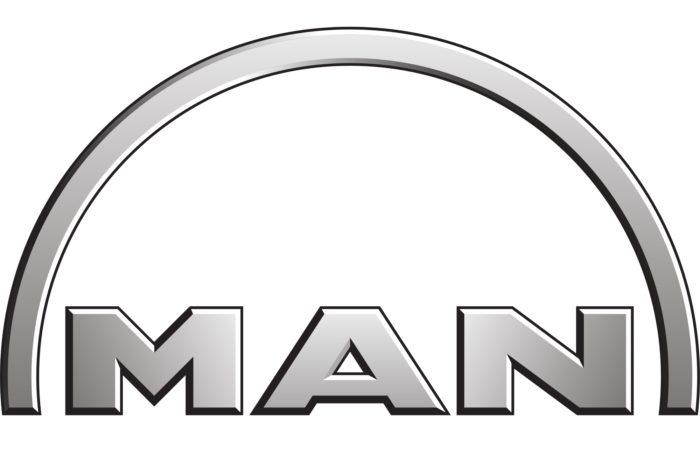 MAN logo, logotype, emblem, symbol