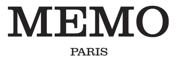MEMO Paris logo, logotype