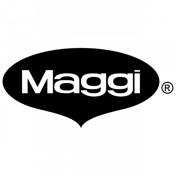 Maggi logo black