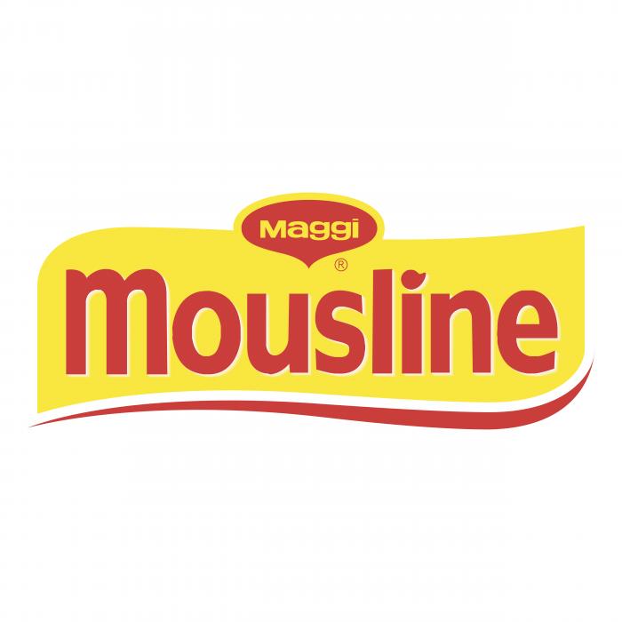 Maggi logo mousline