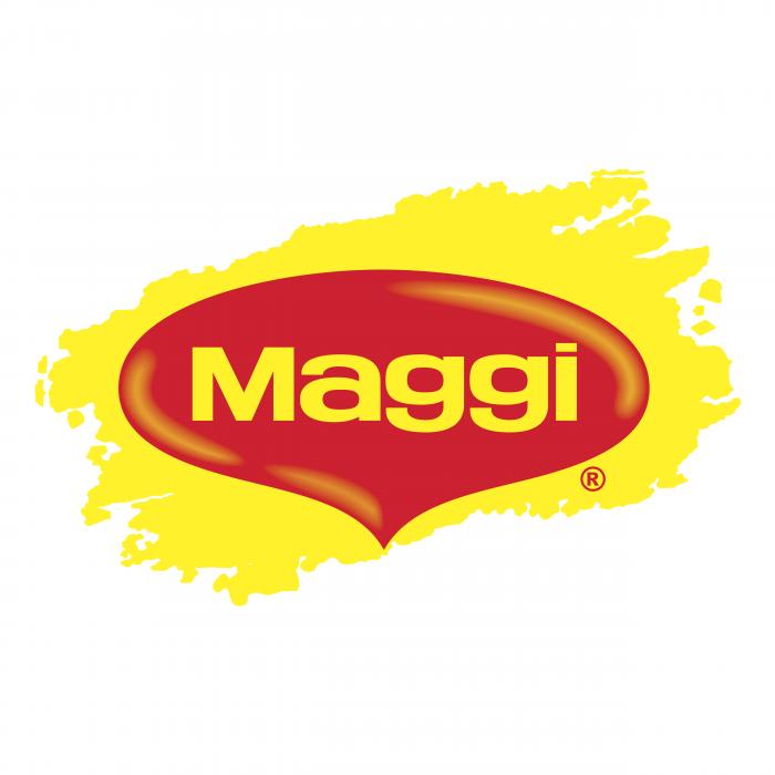 Maggi logo yellow