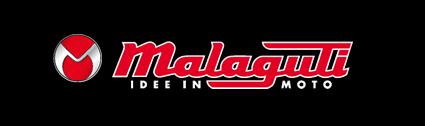 Malaguti logo, black