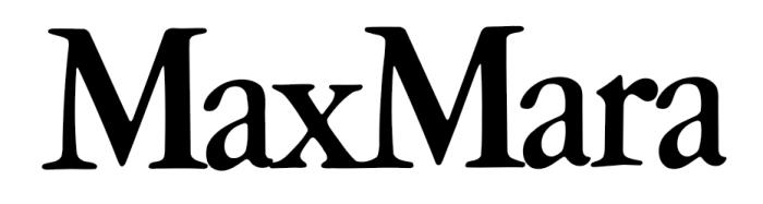 Max Mara logo, logotype, wordmark