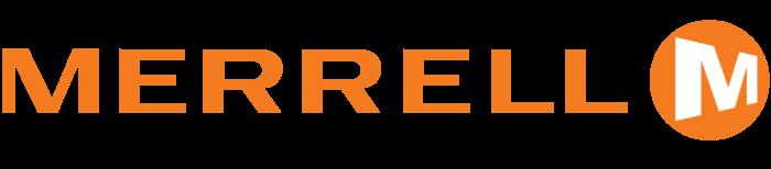 Merrell logo, logotype, emblem