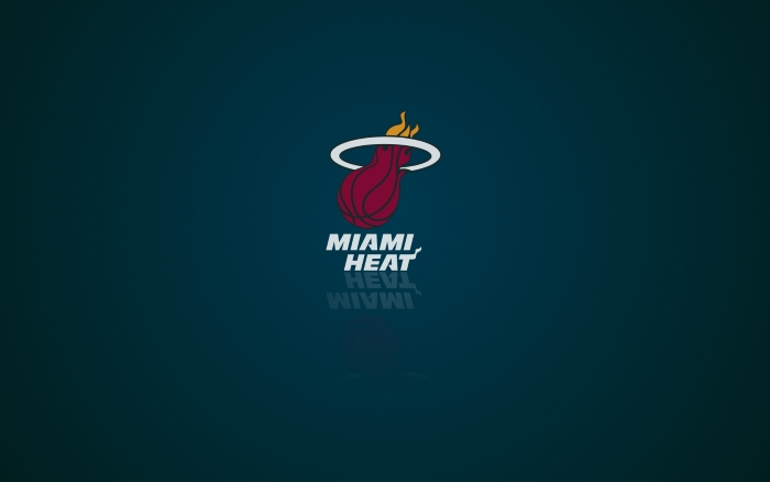Miami Heat wallpaper and logo, widescreen 1920x1200px, 16x10