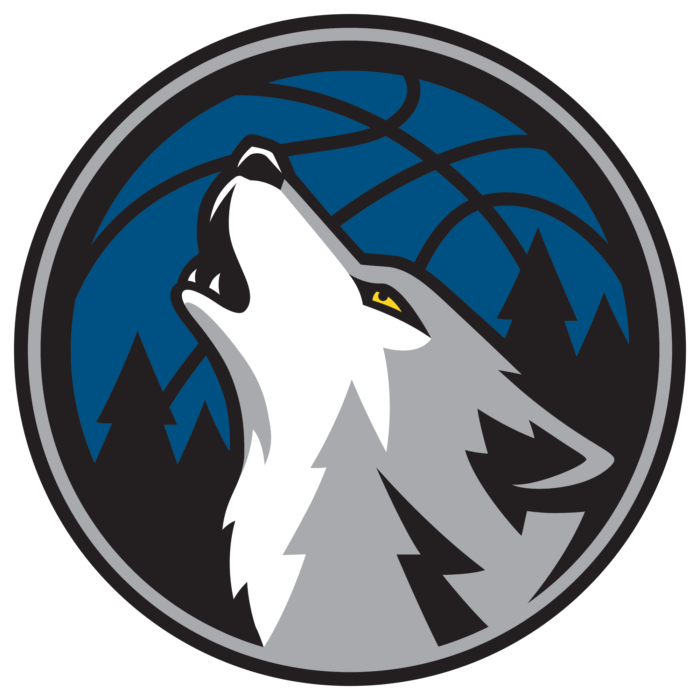 Minnesota Timberwolves logo, emblem (alternate 3)