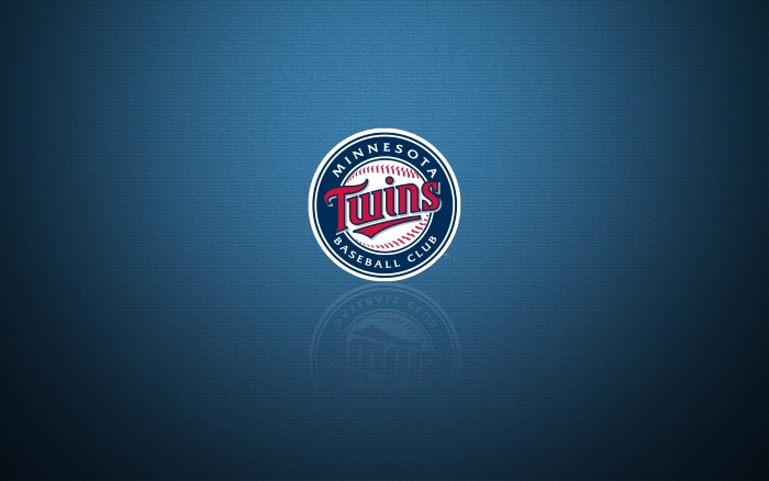 Minnesota Twins wallpaper with logo on it, widescreen 1920x1200px