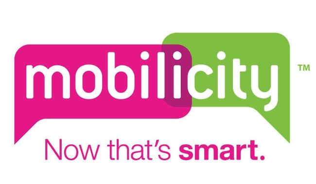 Mobilicity logotype, logo and slogan