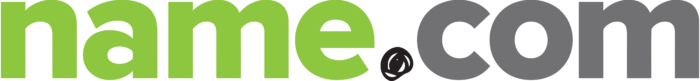 Name.com logo, logotype, wordmark