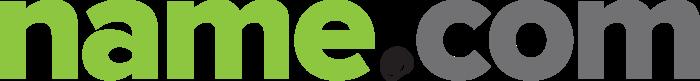 Name.com logo, logotype, wordmark